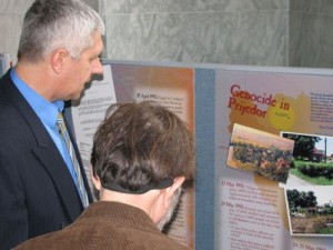Exhibit in the U.S. Congress - Prijedor: Lives from the Bosnian Genocide