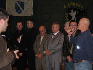 Army of Republic of Bosnia-Herzegovina Remembered in New York