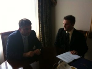 Predsjednik KBSA na Sastanku sa Predsjednikom BiH u New York-u