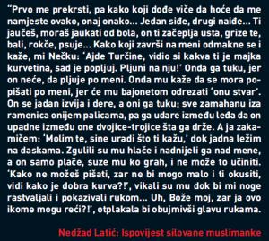 Svjedočanstva silovanih Bošnjakinja