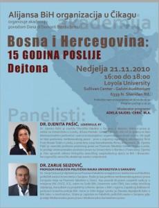 Udruzena Bosnjacka zajednica Cicaga organizira akademiju povodom Dana Drzavnosti BiH