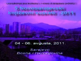 5.NOVOSARAJEVSKI KNJIŽEVNI SUSRETI - 2011