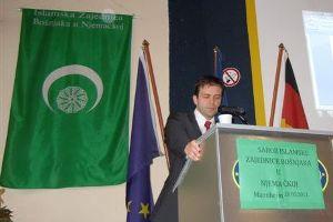 Čestitka KBSA Dr. Nedimu Makareviću povodom izbora za predsjednika Mešihata Njemačke