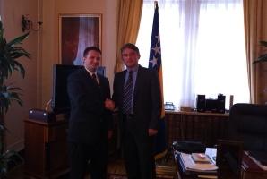 Mr. Haris Alibašić, predsjednik UO KBSA posjetio BiH i sastao s predstavnicima države BiH, akademskim institucijama, i predstavnicima drugih organizacija