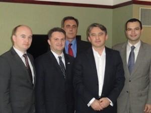CNAB Delegation meets with Zeljko Komsic, Chairman of the Presidency of Bosnia and Herzegovina