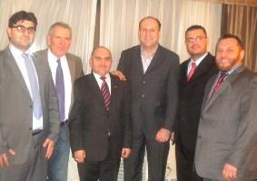 Sastanak predstavnika KBSA sa delegacijom iz Sandžaka u New Yorku