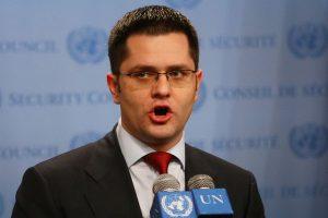 Pismo Generalnom Sekretaru Ujedinjenih nacija u vezi skandaloznog ponašanja Vuka Jeremića